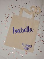 Wedding Role Personalised Tote Bag